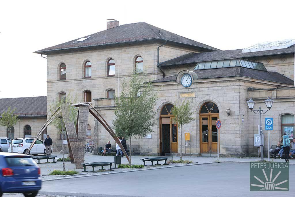 Štýlové predstaničné námestie v Lichtenfels | foto Peter Juriga